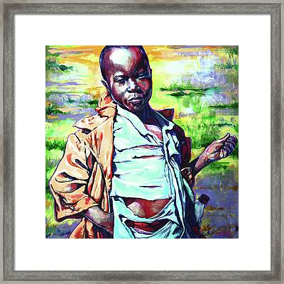 Malawi Child Framed Print