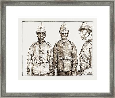 Malay Armed Police Straits Settlements Contingent Framed Print by Litz Collection
