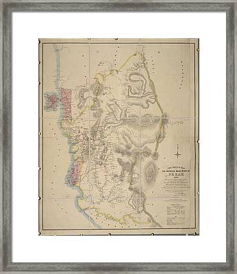 Malay State Of Perak Framed Print by British Library