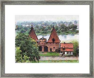 Malbork Castle Framed Print by Aleksander Rotner