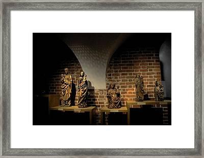 Malbork Castle Museum Framed Print by Jacqueline M Lewis