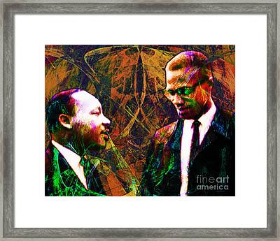 Malcolm And The King 20140205 Framed Print
