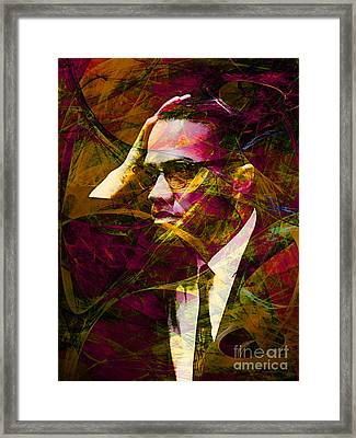 Malcolm X 20140105 Framed Print by Wingsdomain Art and Photography