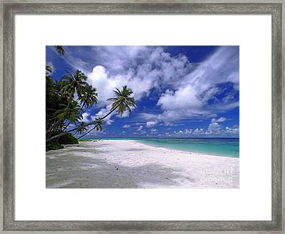 Maldives 03 Framed Print by Giorgio Darrigo