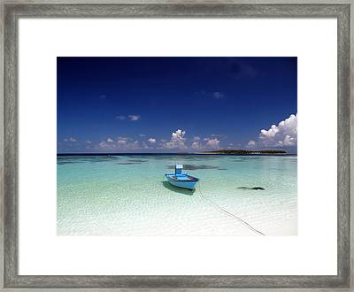 Maldives 09 Framed Print by Giorgio Darrigo