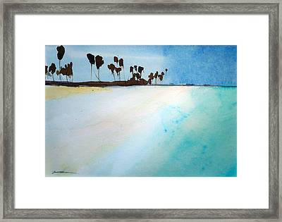 Maldives  Framed Print
