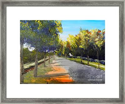 Maldon Victoria Australia Framed Print