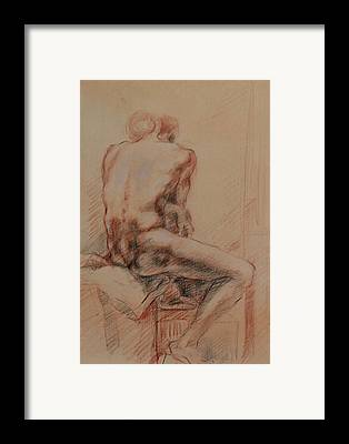 Becky Kim ist Drawings Framed Prints