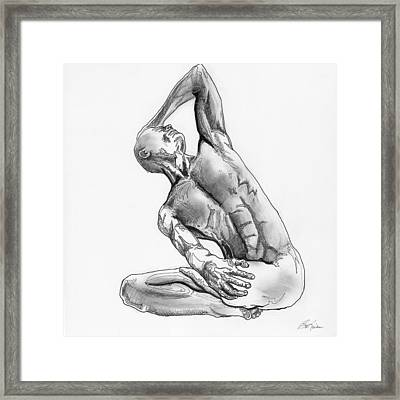 Male Nude 4 Framed Print
