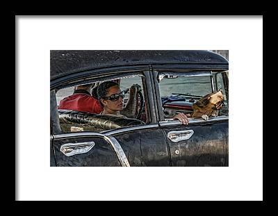 Funny Car Framed Prints