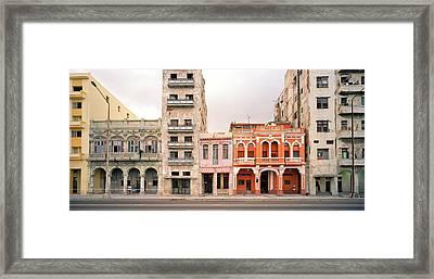 Malecon In Havana Framed Print