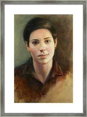 Malena Framed Print by Sarah Parks