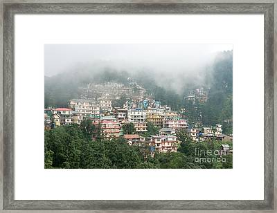 Framed Print featuring the photograph Maleod Ganj Of Dharamsala by Yew Kwang