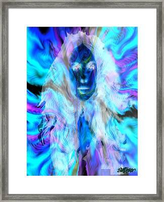 Malestrom Maiden Framed Print by Seth Weaver