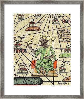 Mali Empire Framed Print by Library Of Congress