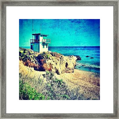 Malibu Framed Print
