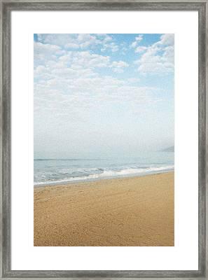Malibu Morning Framed Print by Ari Jacobs