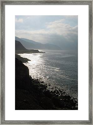 Malibu Morning Framed Print