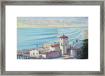 Malibu Pier Framed Print by Michael Knowlton