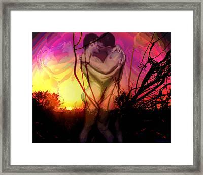 Malibu Sunrise Framed Print