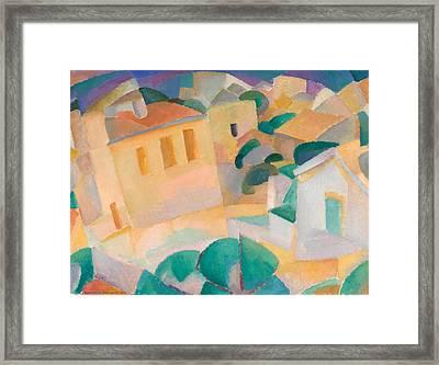 Mallorca Terreno Framed Print by Leo Gestel