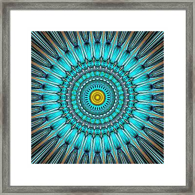 Mallory Framed Print by Wendy J St Christopher