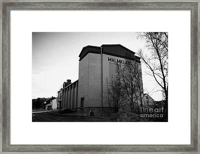 Malmklang Cultural Centre Kirkenes Finnmark Norway Europe Framed Print