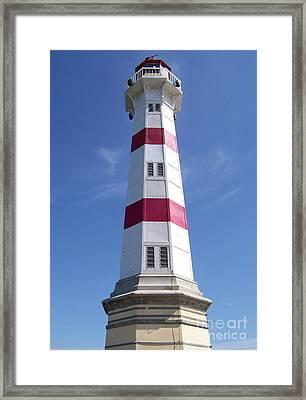Malmo Lighthouse 02 Framed Print by Antony McAulay