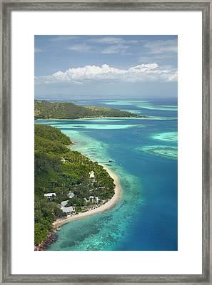 Malolo Island Resort, Malolo Island Framed Print by David Wall