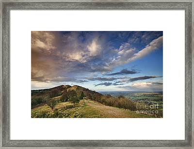 Malvern Hills Framed Print by Rod McLean