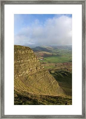 Mam Tor  Framed Print by Pete Hemington
