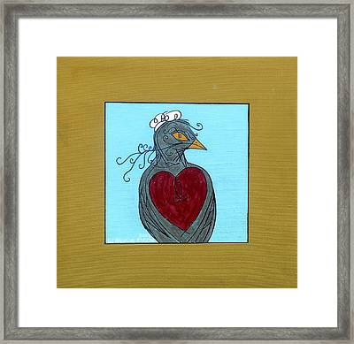 Mama Bird Framed Print by Genevieve Esson