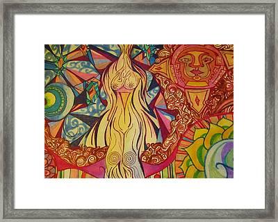 Mama  Framed Print by Shelby Robbins