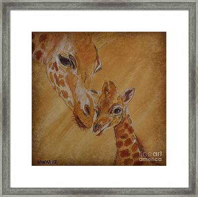Mama Watches Framed Print