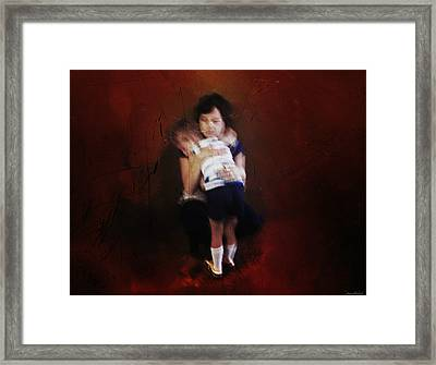 Mamas Love Framed Print by Steven Michael