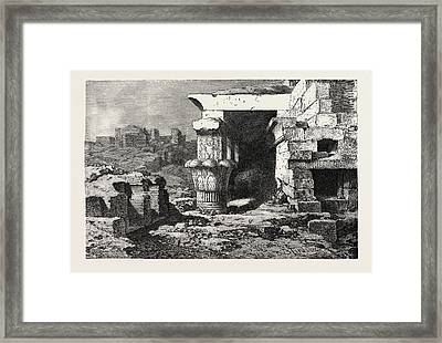 Mamisi, Or Place Of Birth Of Dendera Framed Print