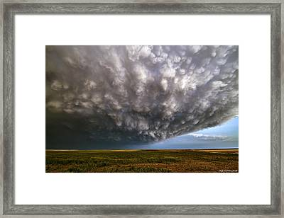 Mammatus Mothership Framed Print