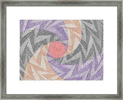 Mammon In All Her Passive Periphrastic Glory Framed Print