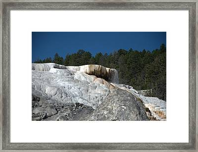 Mammoth Hot Springs 1 Framed Print