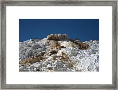 Mammoth Hotsprings 4 Framed Print