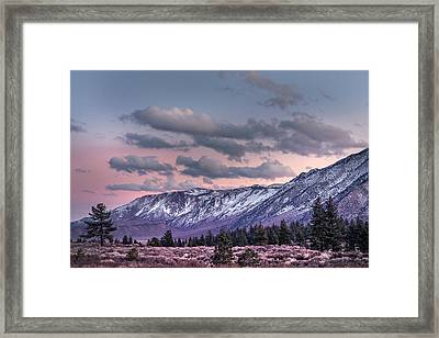 Mammoth Mountain Near Mammoth Lakes Framed Print