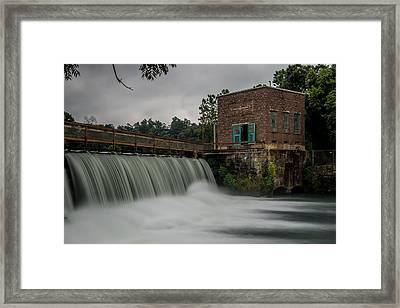Mammoth Spring Dam Framed Print