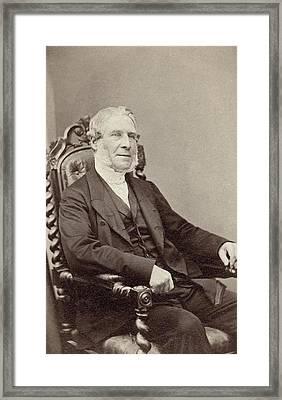 Man, 1868 Framed Print