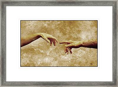Man And Wife Framed Print by Detlev Van Ravenswaay