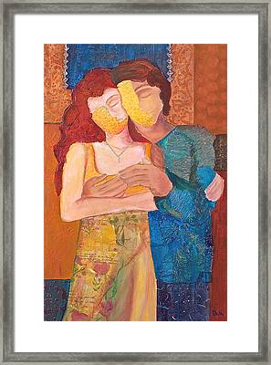Man And Woman Framed Print by Debi Starr