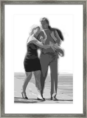 Man And Woman Framed Print by Tom Gari Gallery-Three-Photography