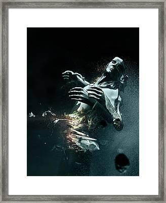 Man Apart Framed Print by Philip Brunner