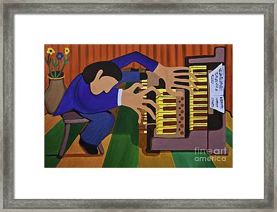The Organist Framed Print