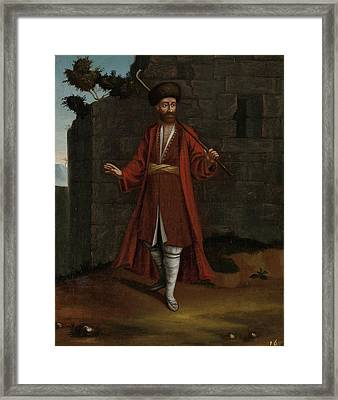 Man From The Bulgarian Coast Bulgaria, Workshop Of Jean Framed Print by Litz Collection