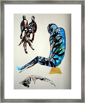 Man From The Space Framed Print by Aquira Kusume